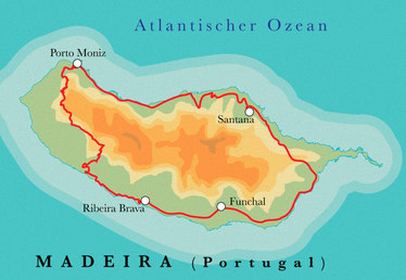 Route Madeira, 8 Tage Wanderreise