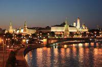 Kreml bei Nacht