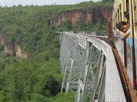 Myanmar Gokteik Viadukt