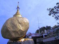 Myanmar Kyaiktiyo Goldener Felsen