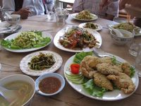 Myanmar Inle See Mittagessen