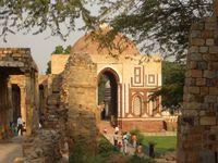 Indien Qutab Minar Altdelhi
