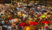 Chiang Mai Market, Nightmarket, Thailand