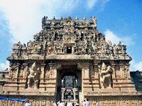 Brihadishvara-Tempel Thanjavur, Südindien