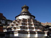 Tibet Gyantse Palkhor-Kloster
