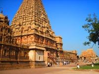 Tempelkomplex, Thanjavur, Südindien