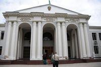 Museum, Theater, Duschanbe, Tadschikistan