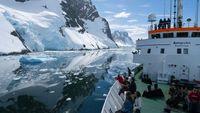 Unterwegs in den Fjorden der antarktischen Halbinsel