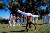 Capoeira Gruppe