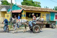 Trinidad Straßenleben