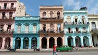 Häuserwand Havanna