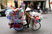 Auf den Straßen Saigons
