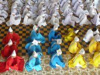 Zeremonie in der Kathedrale von Tay Ninh