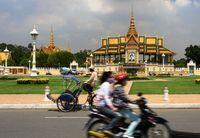 Auf den Straßen von Phnom Penh