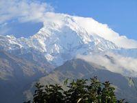 Nepal Pokhara Machapuchare