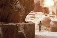 Durch die Schluchten von Little Petra