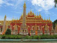 Myanmar Monywa Thanboddhay Pagode