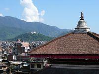Aussicht Durbar Square, Kathmandu, Nepal