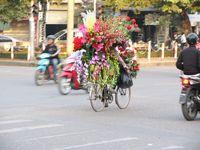 Auf den Straßen Hanois