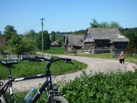 Unterwegs mit dem Fahrrad